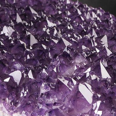 Kryształy ametystu